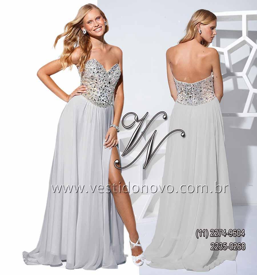 Vestido de bodas de prata